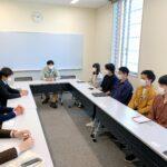 横浜市金沢区とご挨拶(意見交換会) 今年は色々できることを祈ります。