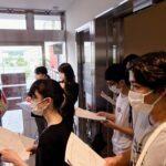 映画「笑む」@金沢公会堂 ボランティア運営スタッフとして当ラボの学生さんが協力参加