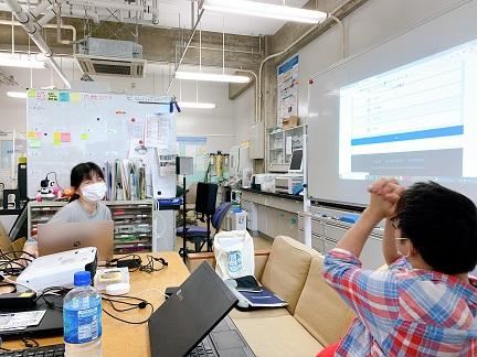 阿部さん 2022年度大学院試験 合格